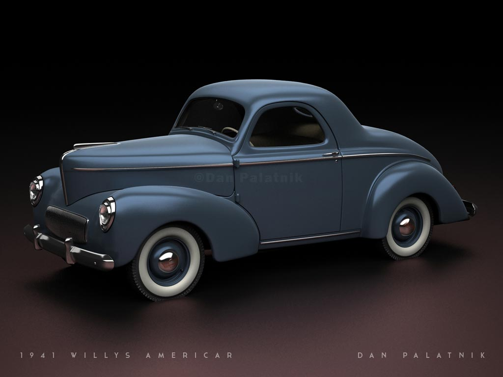 1941 willys americar coupe final