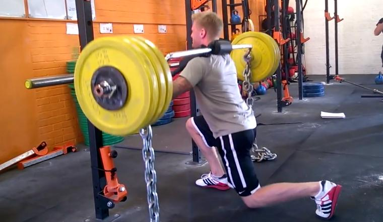 Using the Safety Bar Split Squat with MMA athletes or any athlete ...