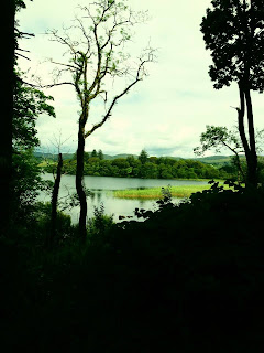 Beautiful lake at Solis, County Donegal