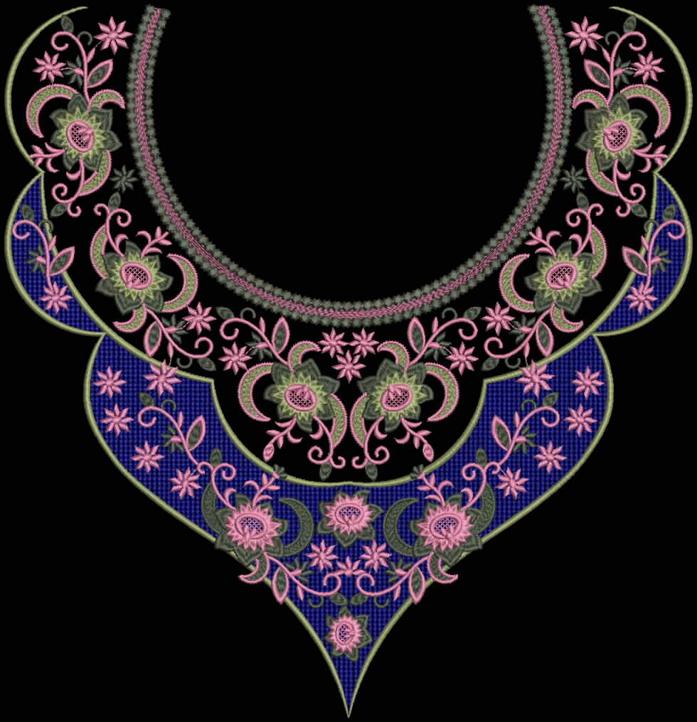 Embroidery designs july