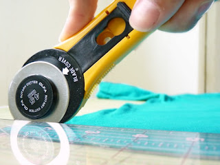 Rotary Cutter in Action