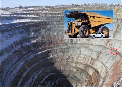 World Largest Open Pit Diamond Mine | Most Interesting ...