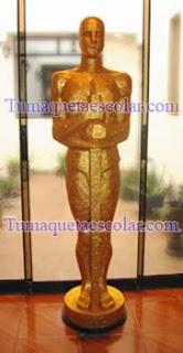 Maqueta Escultura Estatuilla El Oscar para Evento