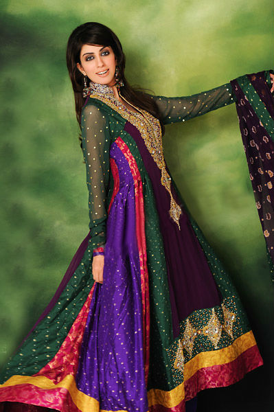 Party wear anarkali frock