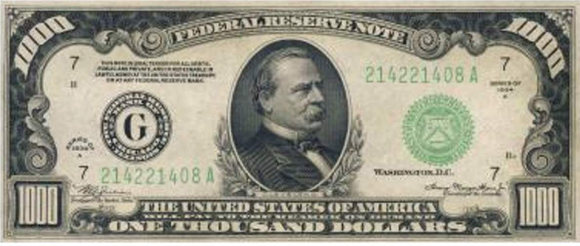 Us Dollar Bill