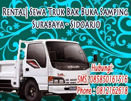 Rental| Sewa Truk Bak Buka Samping  Surabaya - Sidoarjo