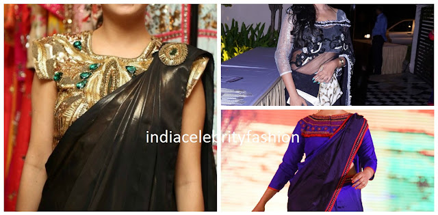 Trendy Saree blouse designs