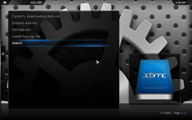 Aeon Nox 2.0 XBMC 11 Theme