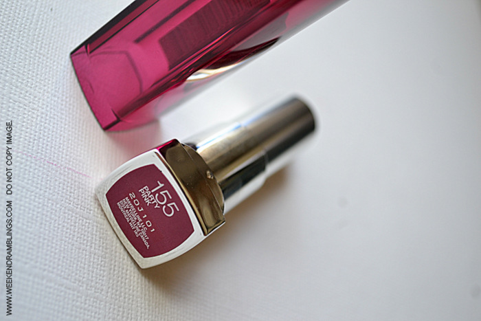 Maybelline Makeup Color Sensational Party Pink 155 Lipstick Beauty Blog Reviews Swatches FOTD Indian Darker Skin