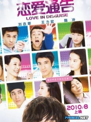 Thông cáo tình yêu Love in disguise 2010
