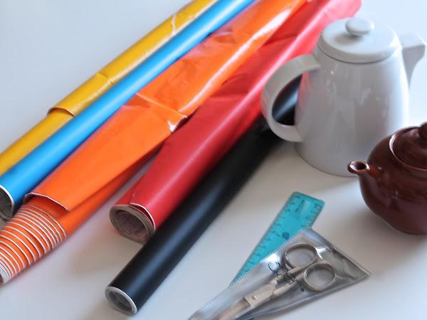 DIY Plastica Adesiva/ DIY Adeshive Plastic