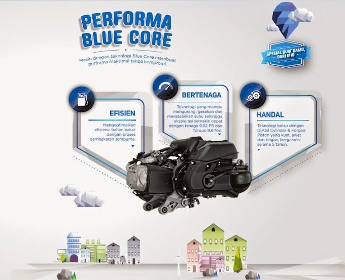 Spesifikasi Yamaha Mio 125 M3 Blue Core