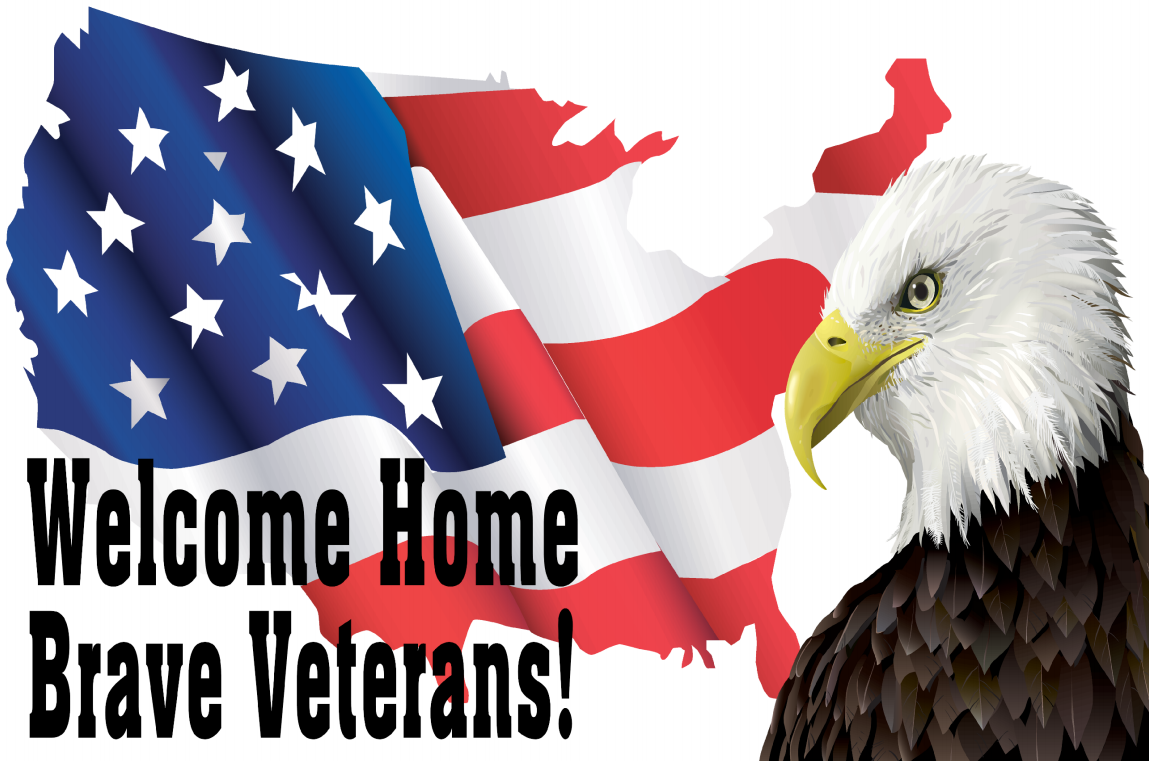Welcome Home Brave Veterans Banner | Banners.com