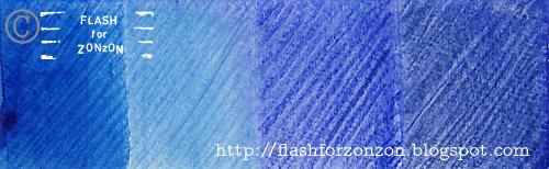 Tones of blue