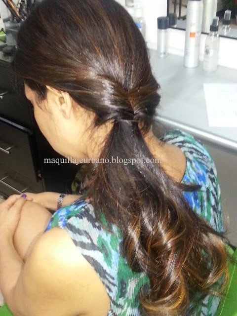 peinado para cabello largo