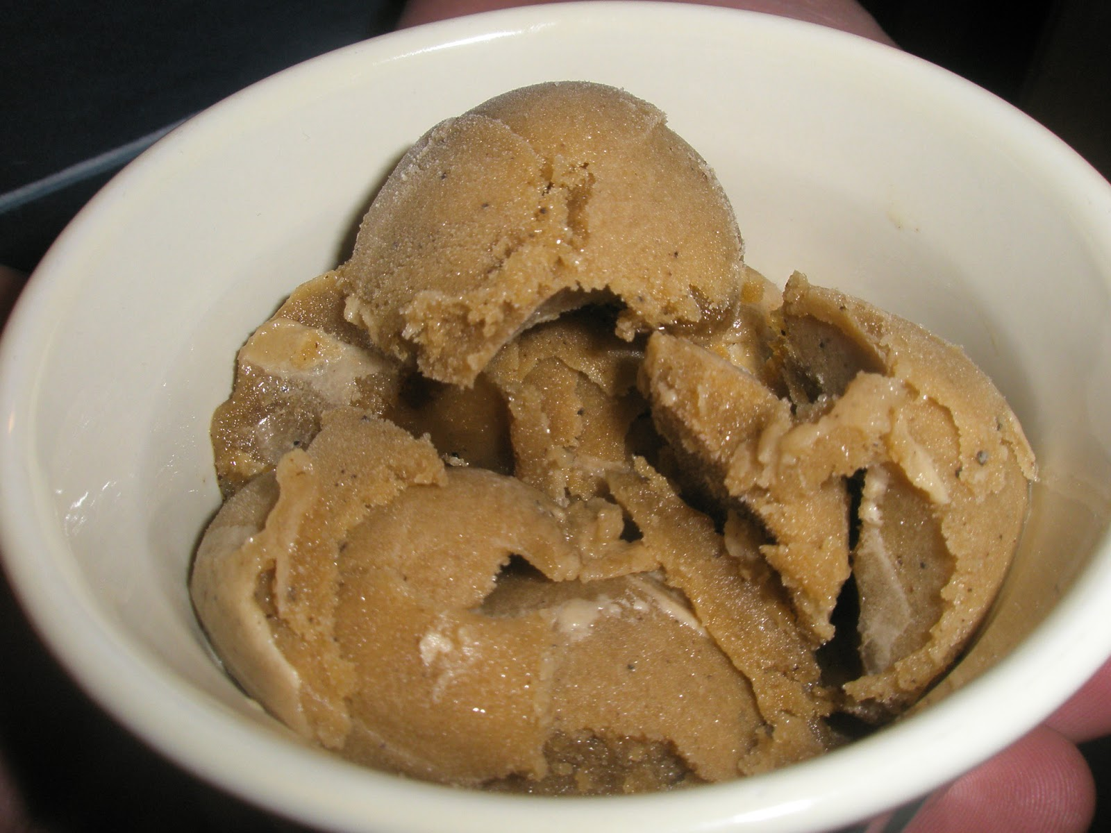 Serve andenjoy the Coffee Ice Cream Recipe Dessert