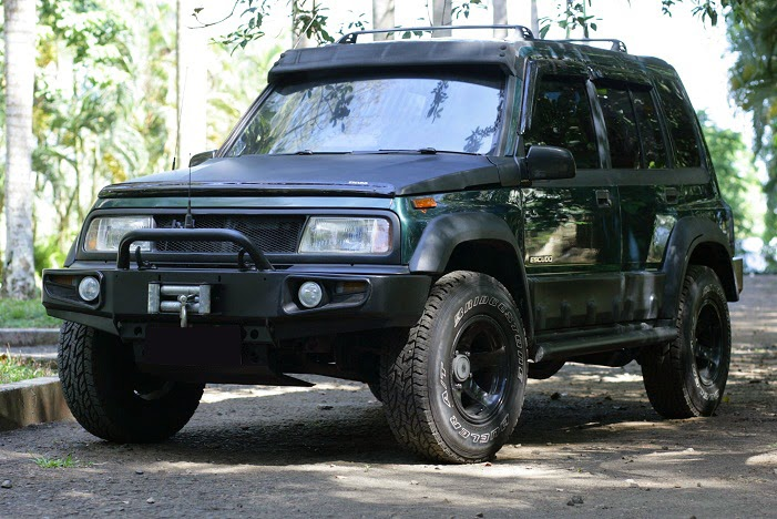 modifikasi suzuki escudo 1995