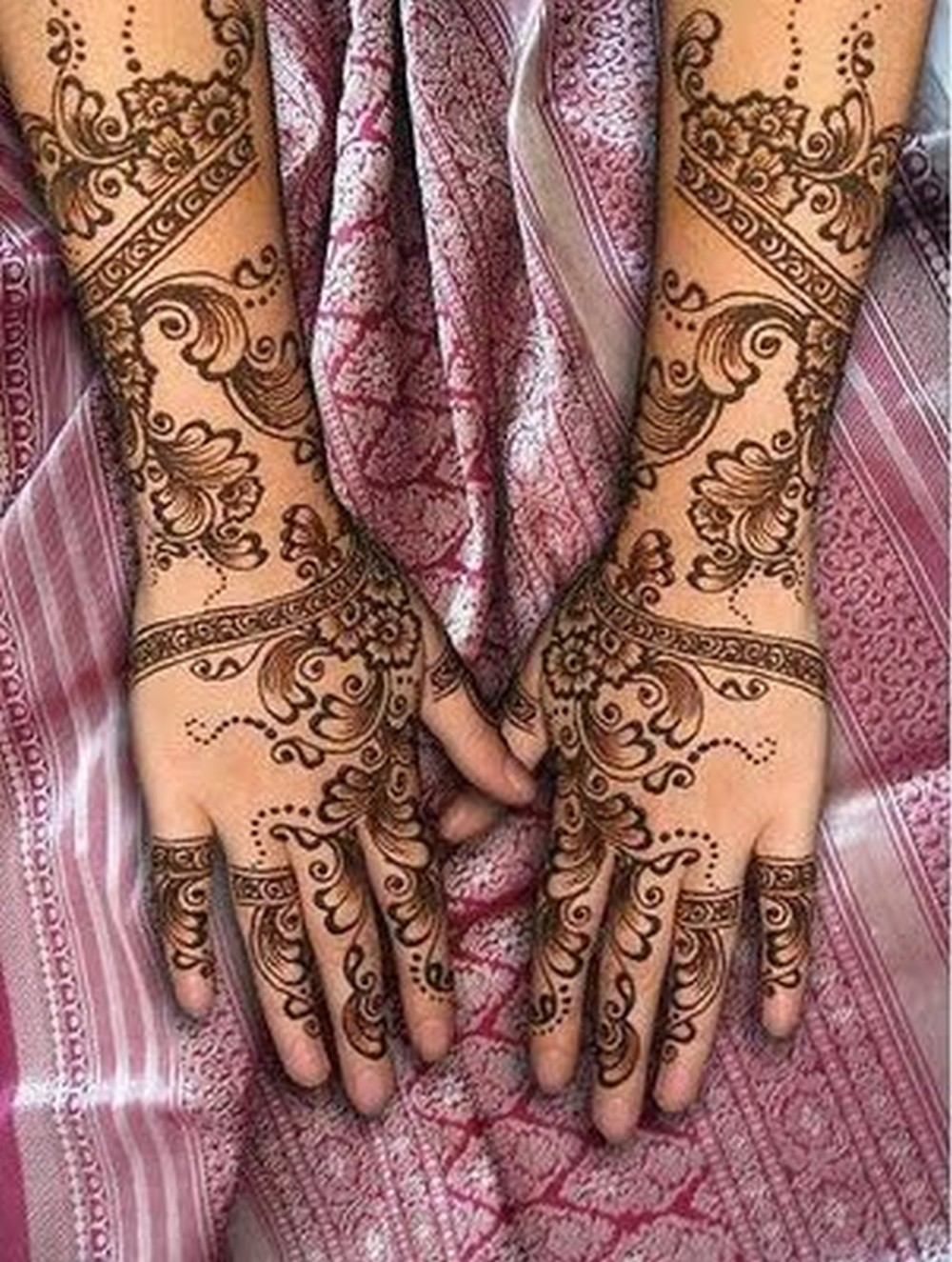Henna Mehndi On Hand : Indian bridal mehndi designs for hands