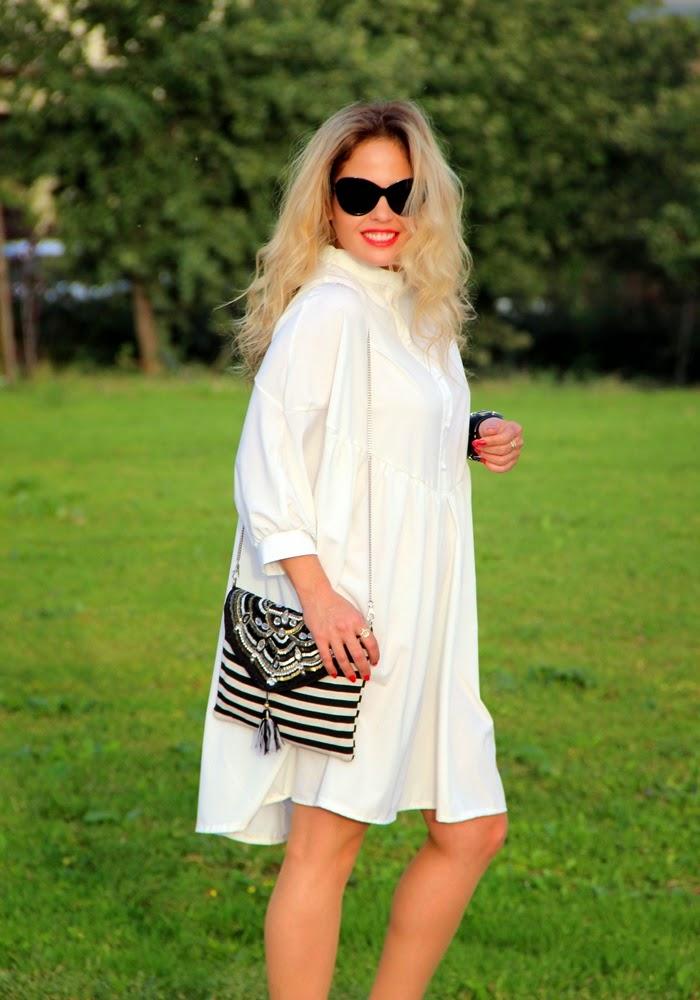 בלוג אופנה Vered'Style - קוד לבוש שחור לבן וזהב