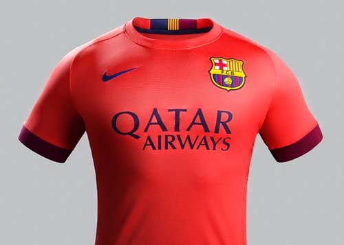 Nike Released 2014/15 FC Barcelona Away Kit