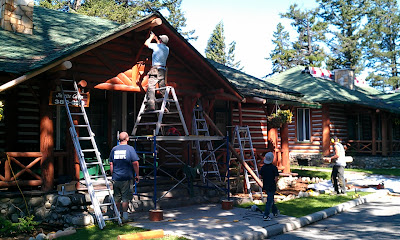 Renovation by Sitka Log Homes