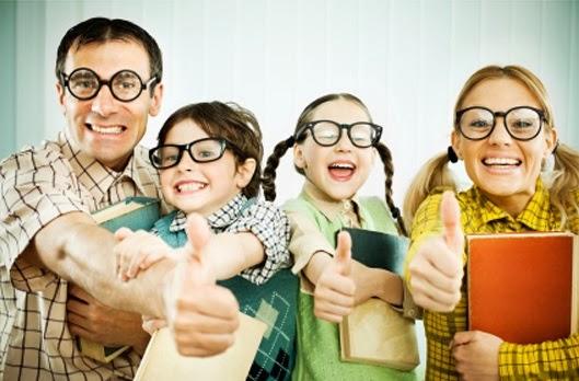 familia nerd