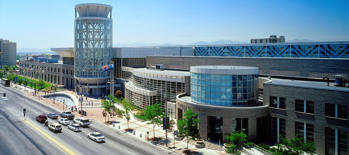 Salt Palace Convention Center, venue for FGS 2015