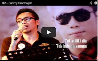 Download Lagu Lengkap Sammy Simorangkir DIA