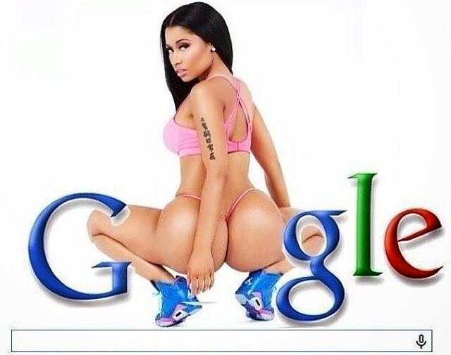 Google pone a Nicki Minaj en su portada