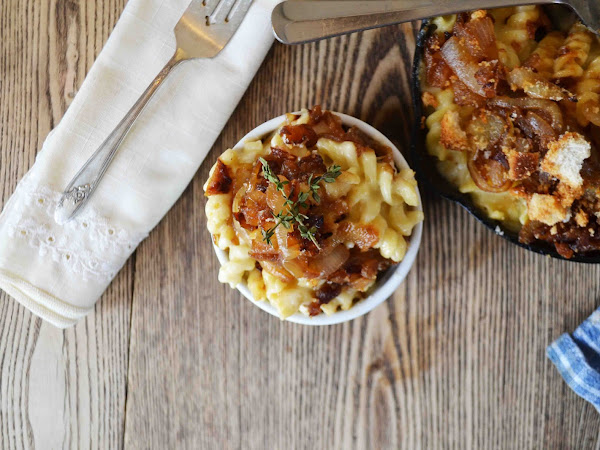 French Onion Soup Macaroni and Cheese