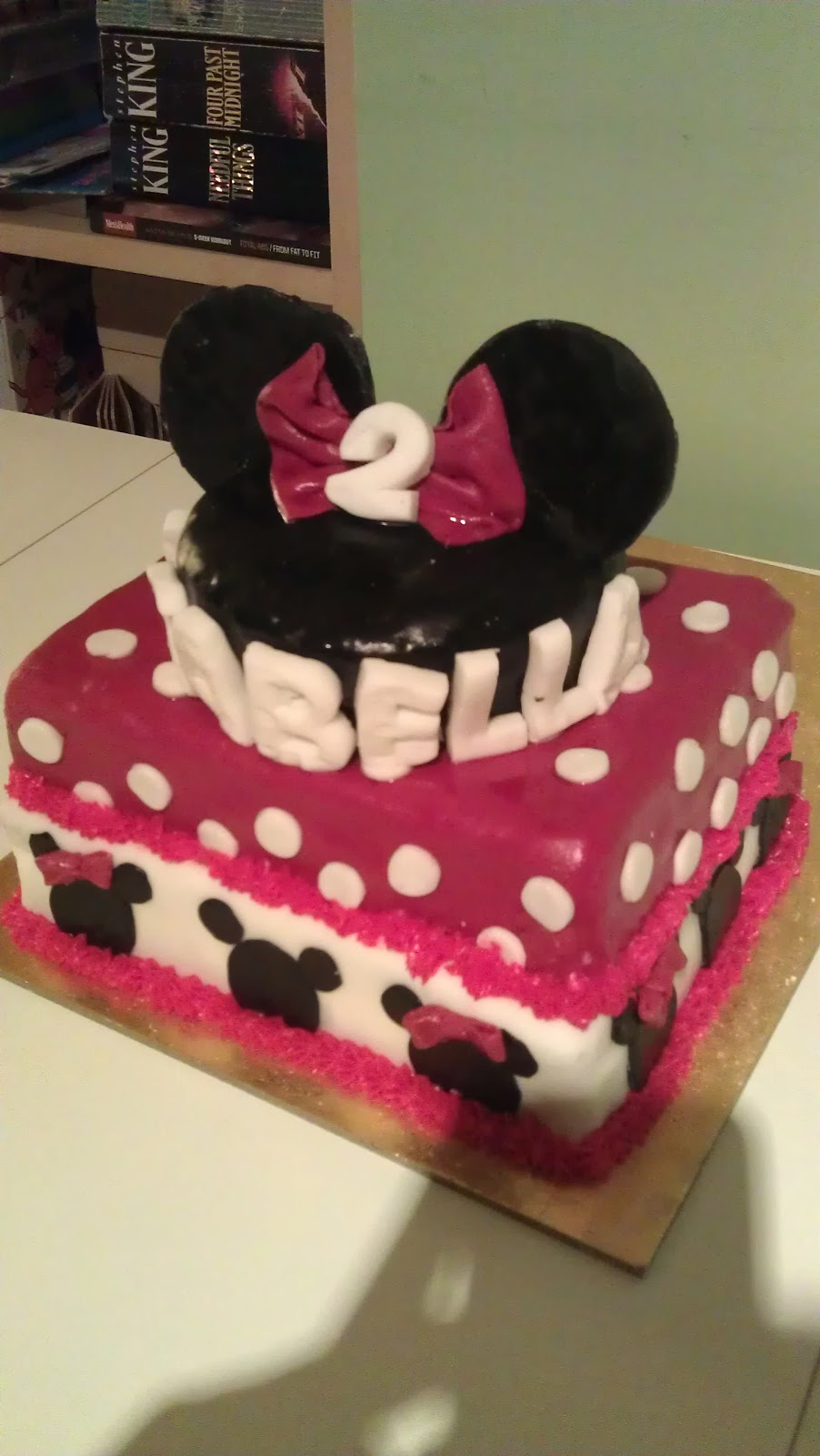 Bigeyespotbelly Minnie Mouse Birthday Cake