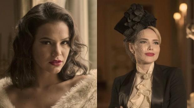 """Bruna Marquezine e Letícia Colin falam sobre cenas quentes em série: """"Tudo muito lindo"""""""
