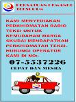 PERKHIDMATAN RADIO TEKSI UNTUK KAWASAN SKUDAI - 075537226