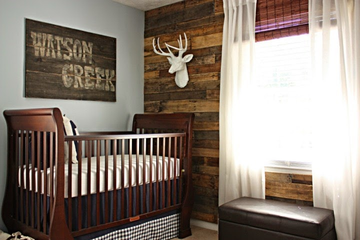 Creative wall painting ideas for baby nursery for Creative baby rooms