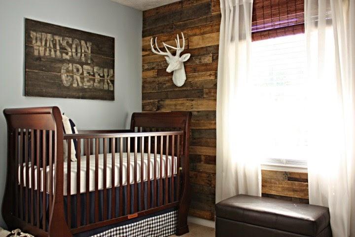 Creative wall painting ideas for baby nursery for Baby boy nurseries ideas
