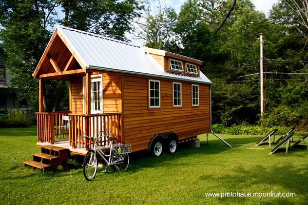 Casa pequeña económica de madera