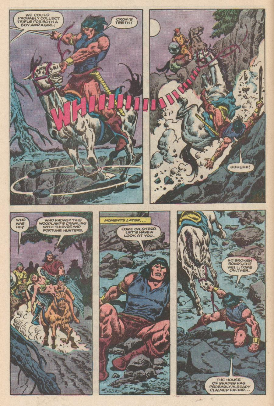 Conan the Barbarian (1970) Issue #168 #180 - English 5