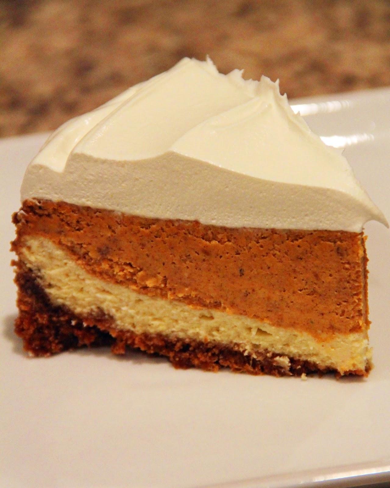 Jo and Sue: Layered Pumpkin Cheesecake