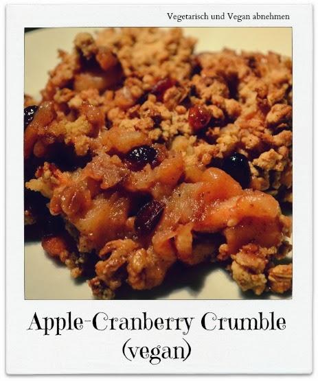 Apple Cranberry Crumble Recipe — Dishmaps