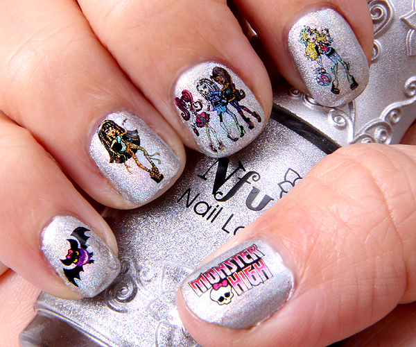 Dema Pixie Monster High Nails Over Nfu Oh 61 Lotd