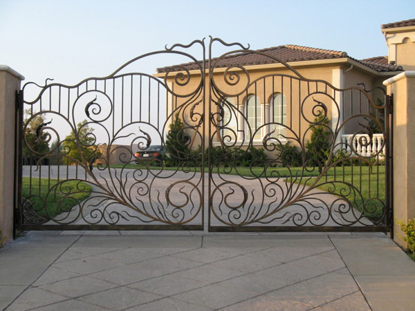 Luxury Design Gate Door Security Big House Photo