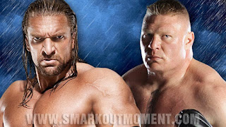 WWE SummerSlam 2012 Pay-Per-View Brock Lesnar vs Triple H HHH Video