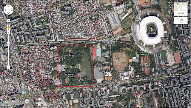 parcul national vedere din satelit