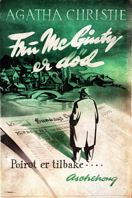 Agatha Christie - Fru McGinty er död - Aschehoug 1952