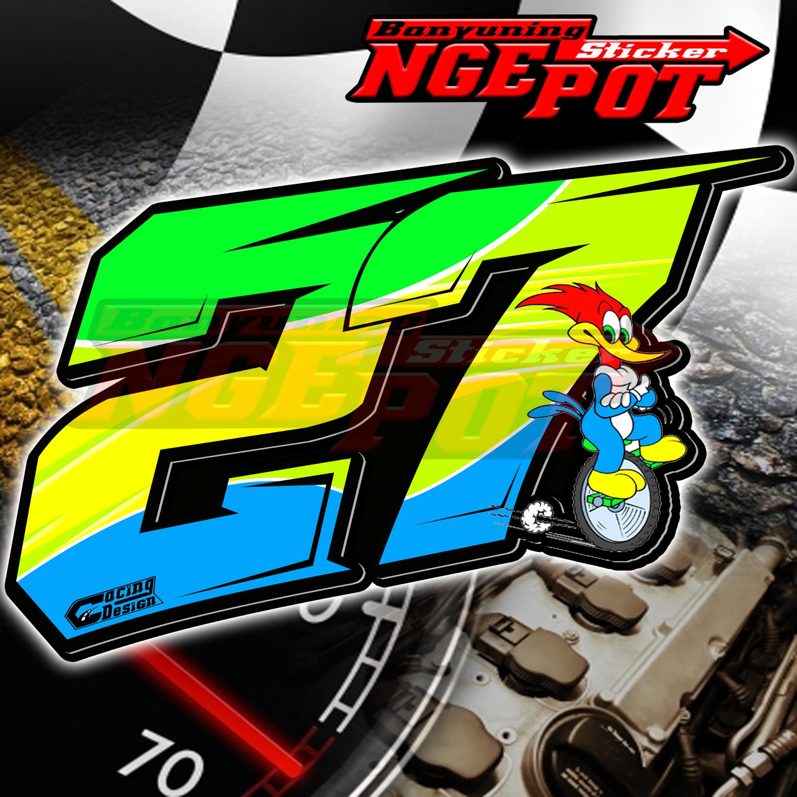 Design ngepot sticker