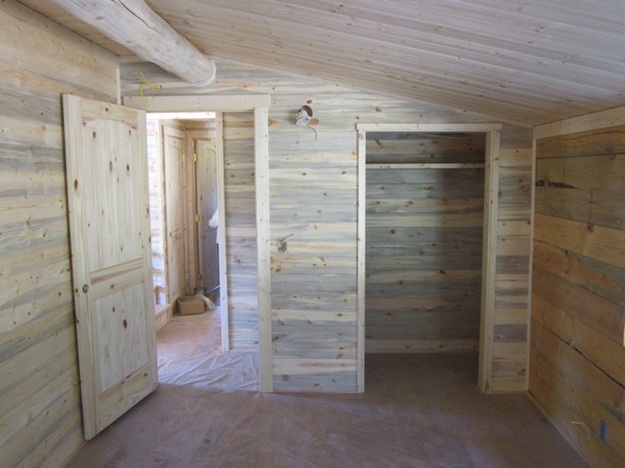While Waiting For The Metal Roofing To Show Up, I Have Been Working On The  Interior Of The Cabin. I Have Framed Up The Interior Walls, Got All Of The  ...