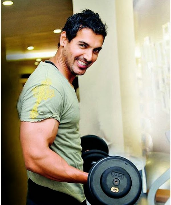 Coogled Actor John Abraham Gym Workout Pictures