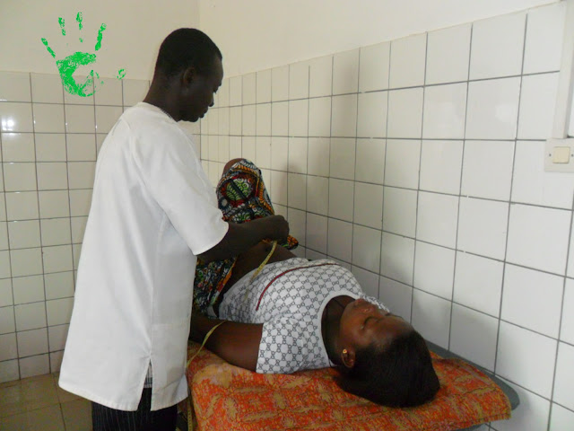Gestante - controllo gravidanza in Africa