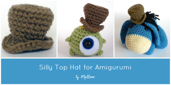 Amigurumi Top Hat Pattern : Made In Craftadise: Crochet