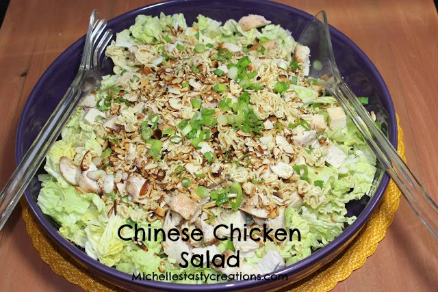 Michelle's Tasty Creations: Chinese Chicken Salad